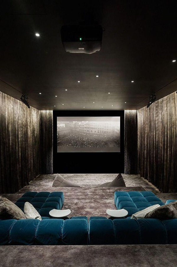 A-big-private-home-theater