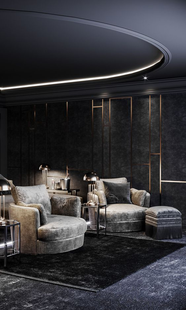 Aesthetic-cinema-room-design-eith-headlight