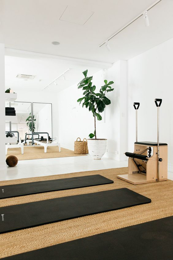 Simple-exercise-room-ideas