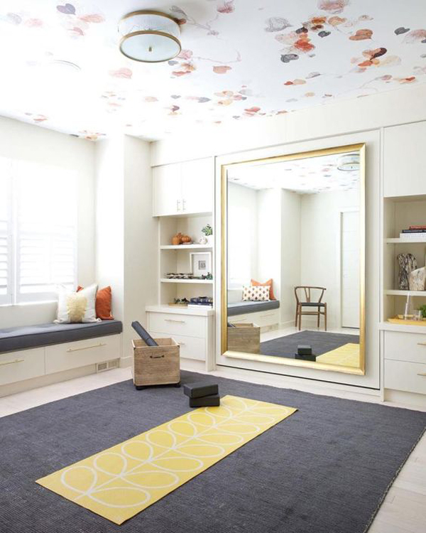 Girly-work-out-room