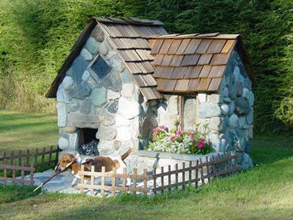 Natural-stone-dog-house