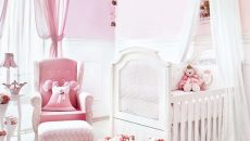 Pink-and-white-combination-decoration
