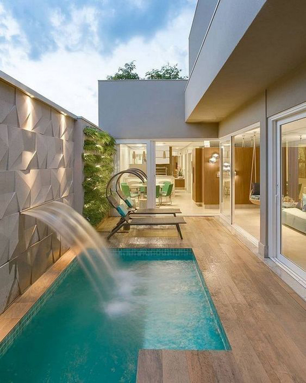 Small-swimming-pool-with-shower