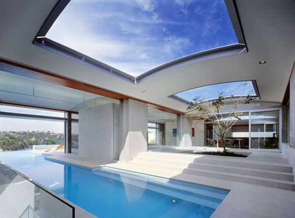 Swimming-pool-with-skylight