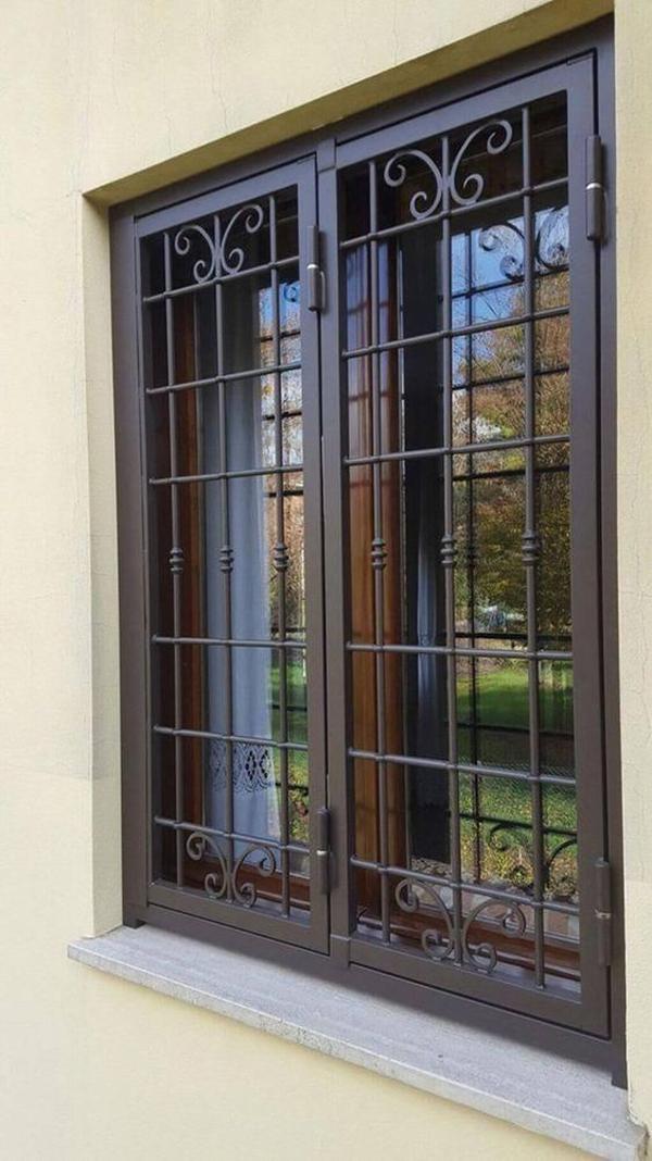 black-iron-front-door