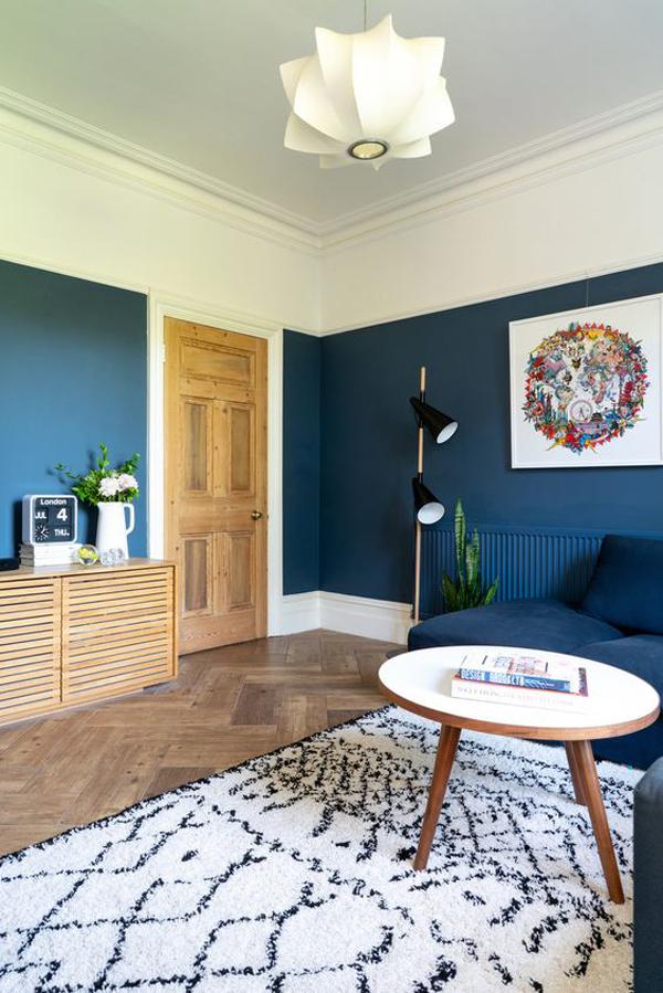 Blue-velvet-decoration