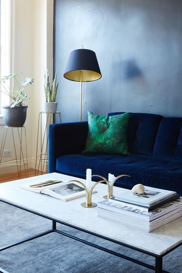 Blue-velvet-lamp-decoration