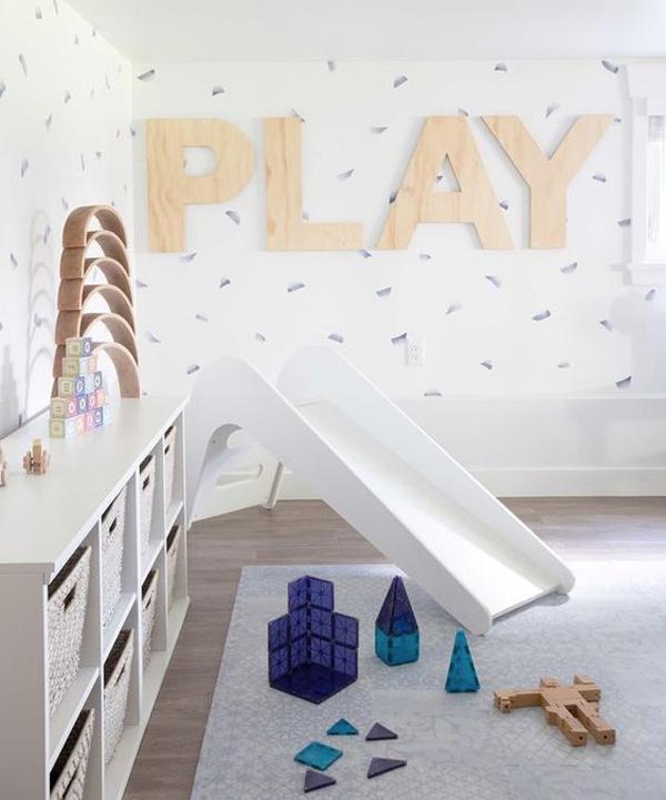 kids-room-with-slide