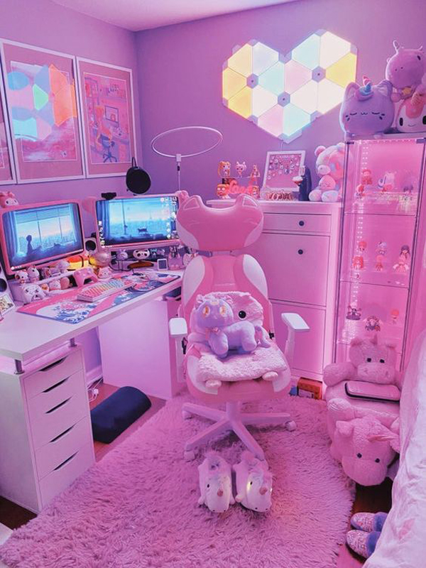 Pingky-gaming-room-for-girl