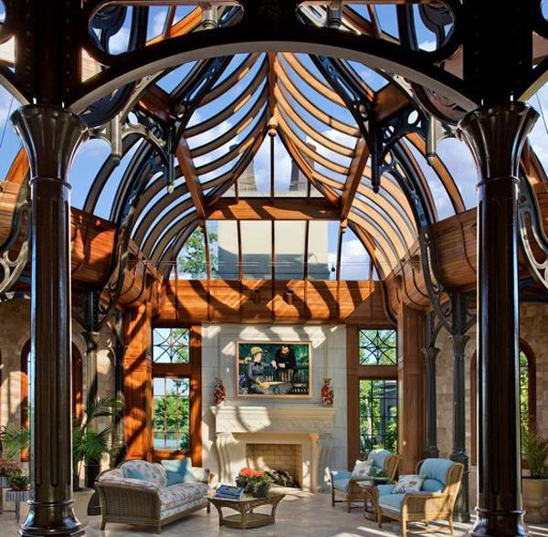 Unique-sun-room-design