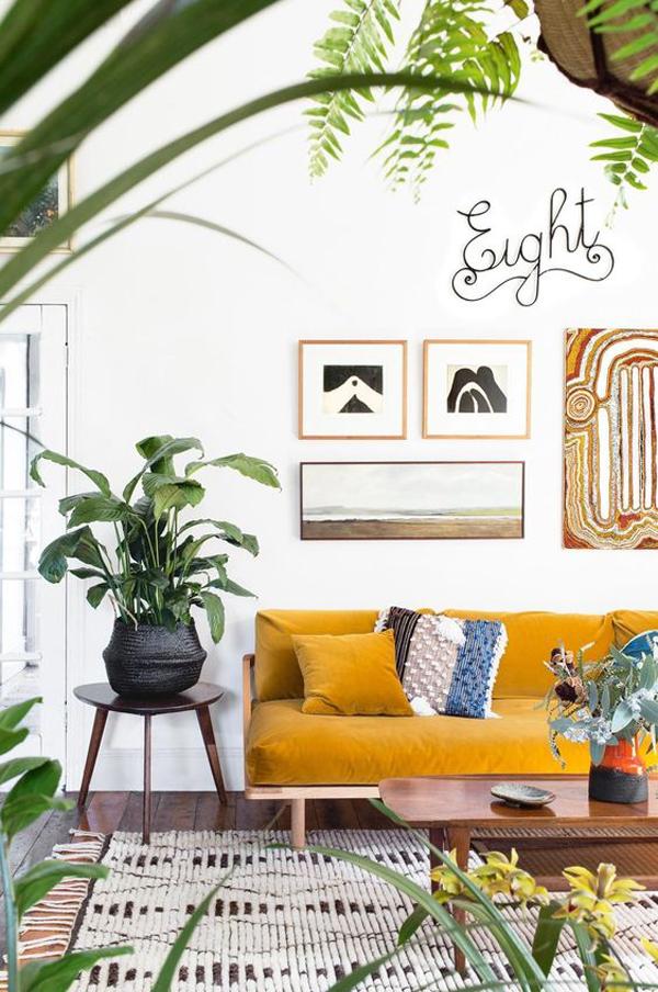 yellow-rectangular-sofa