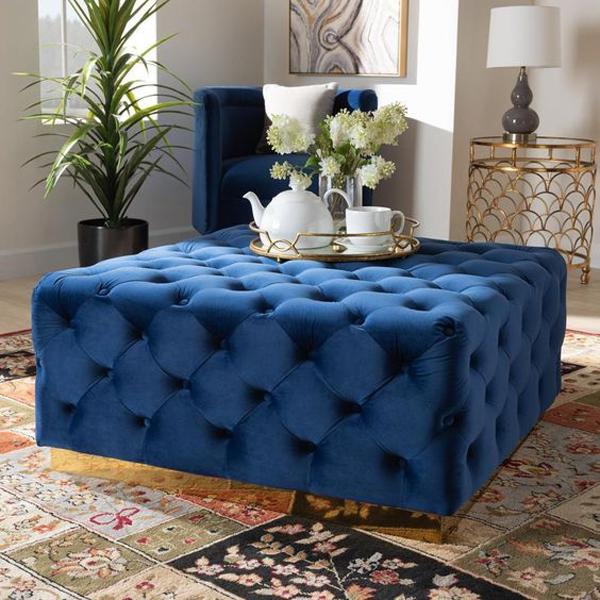 blue-velvet-living-room-table