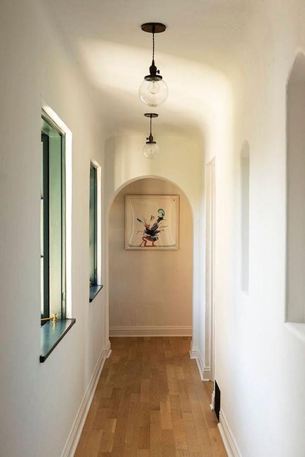 double-bowl-hallway-lighting