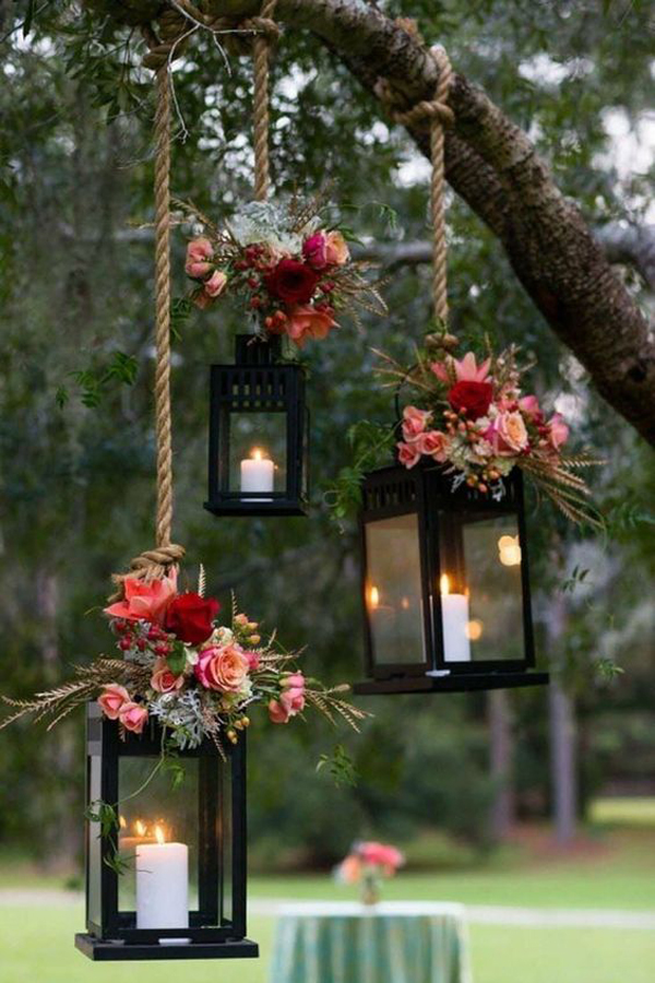 hanging-lighting-decoration-for-wedding-outdoor-ceremony