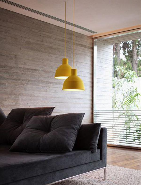 hanging-yellow-lamps