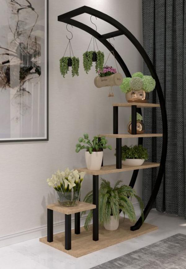 multi-tier-wood-plant