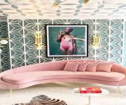 pink-curved-sofa