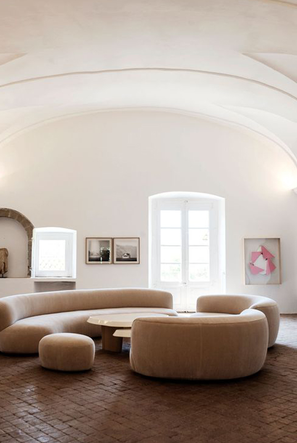 soft-brown-curved-sofa