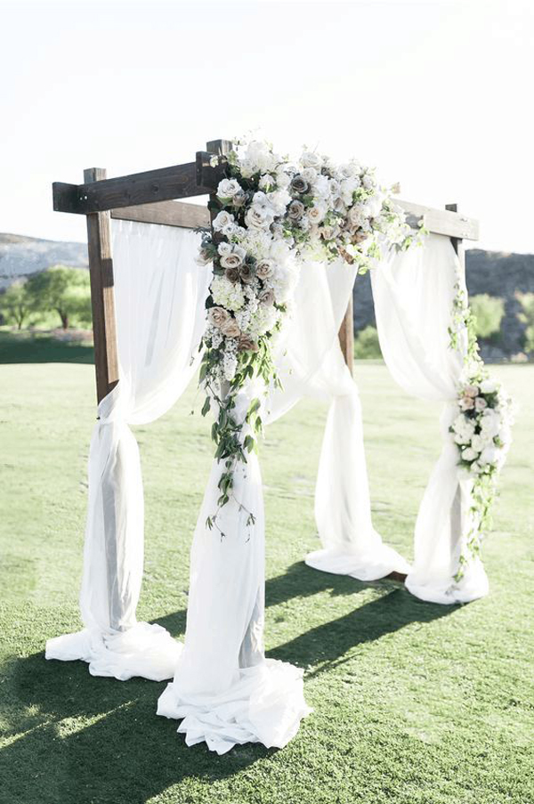 vintage-aisle-wedding-decoration