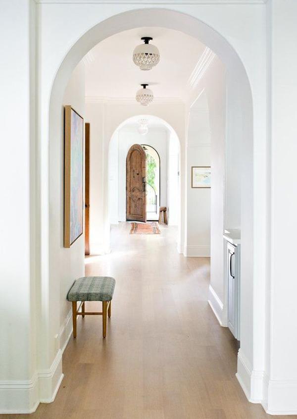 white-hallway-decoration