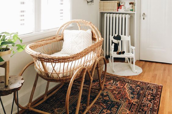 white-rattan-baby-cribs-ideas