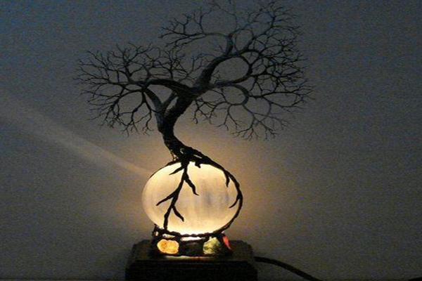 Aesthetic-lamp-bedroom-design