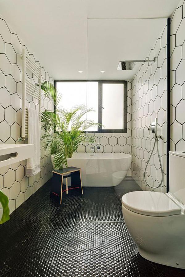 Black-and-white-bathroom-theme