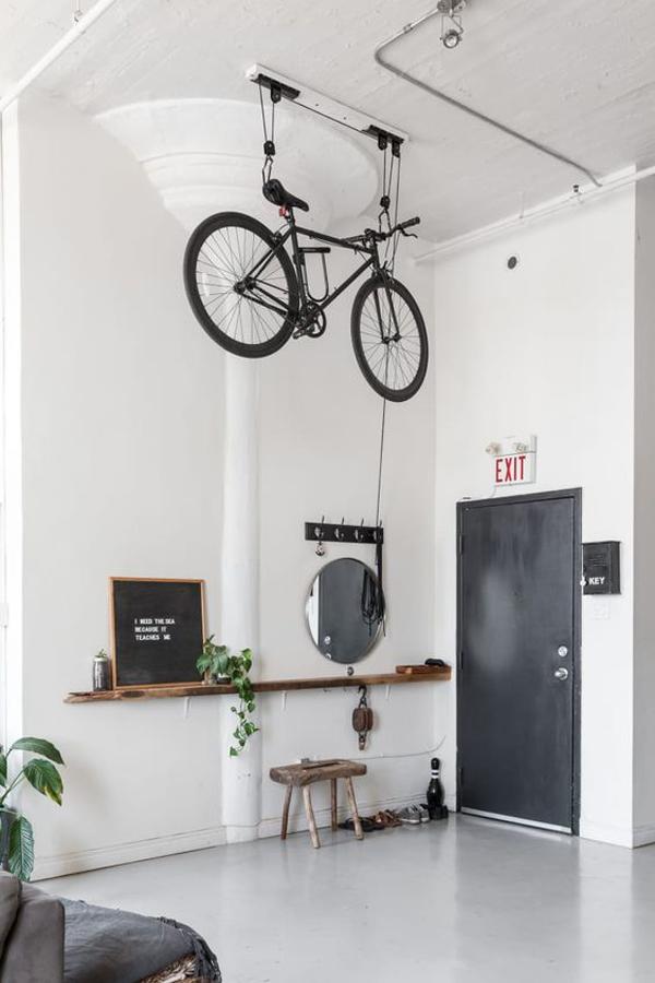 Indoor-bike-storage