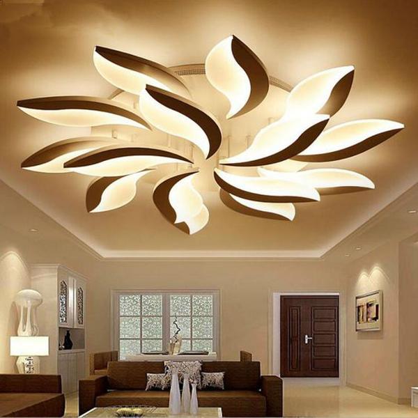 Modern-LED-ceiling-rose-light