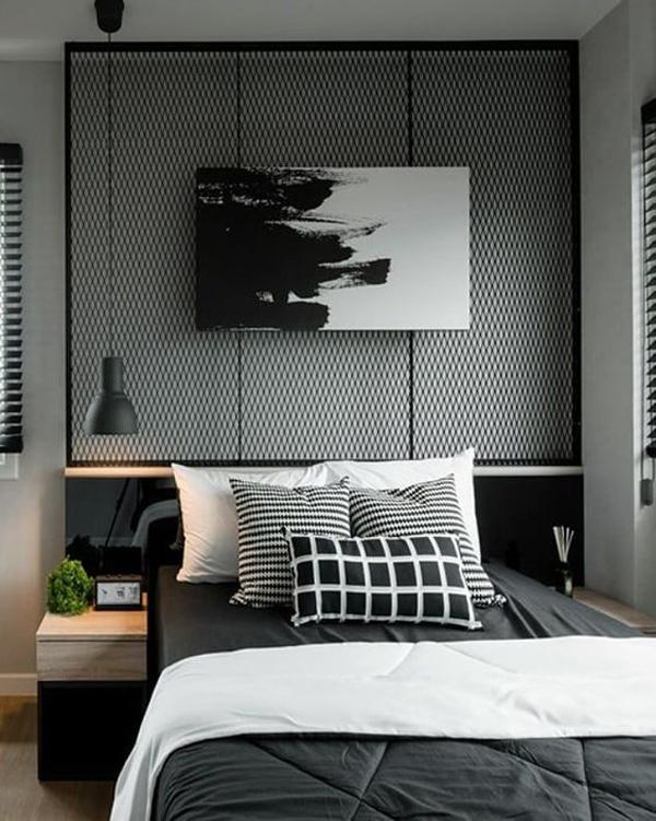 Monochrome-bedroom-design