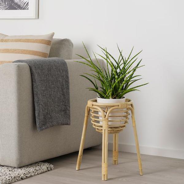 Plant-rattan-stand