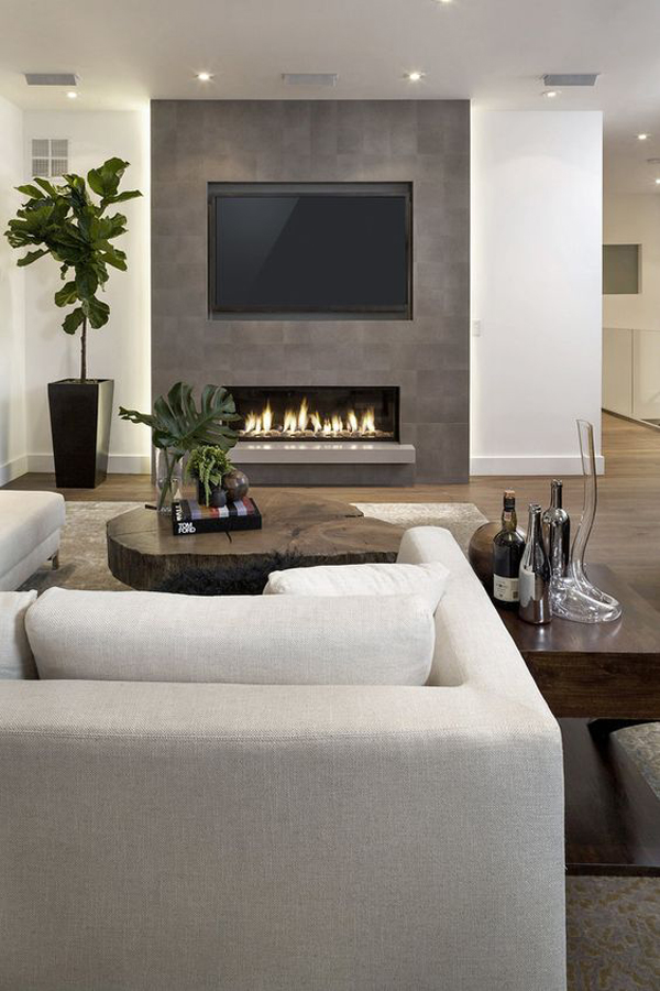 TV-wall-and-fire-place