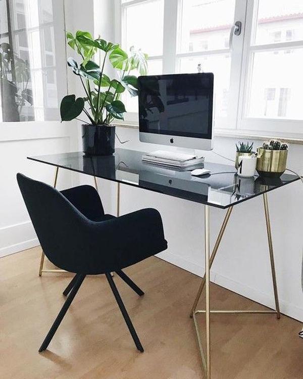 black-glass-home-office-desk
