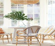 chic-bohemian-dining-table-design
