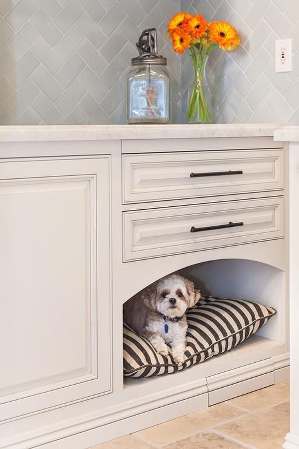dog-bed-under-table