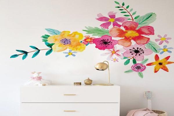 flower-mural-design