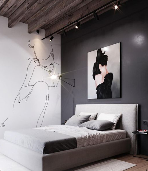 grey-and-white-walls-combination