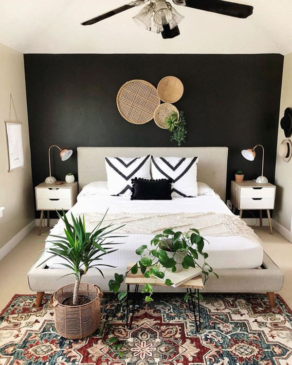 neutral-boho-gallery-for-rustic-bedroom
