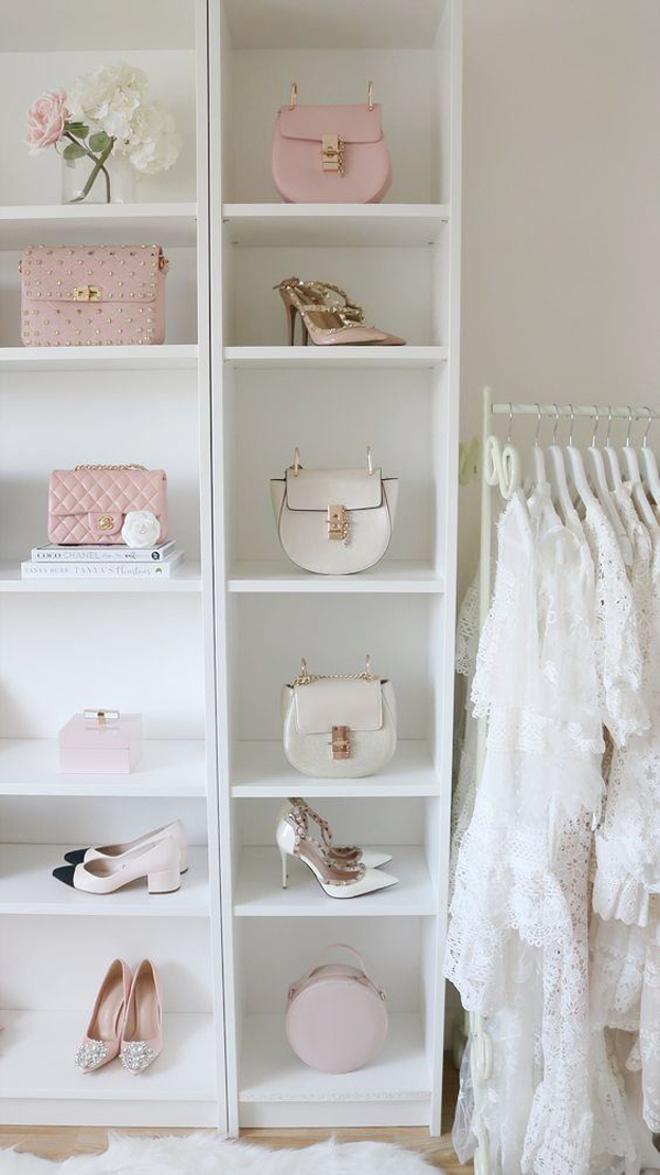 pink-theme-for-accessories-shelf