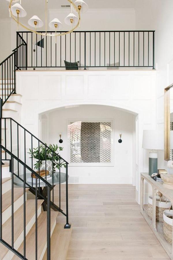 rectangular-railing-staircase-ideas