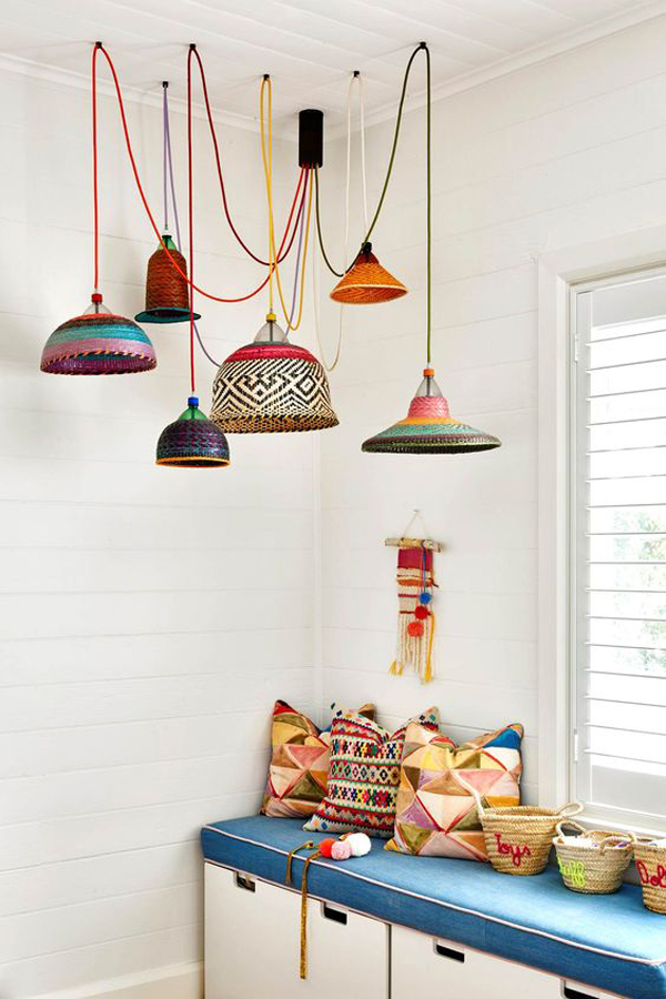A-colorful-lamp-shade-with-cottage-theme