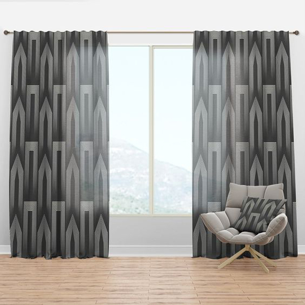 A-gray-living-room-curtains