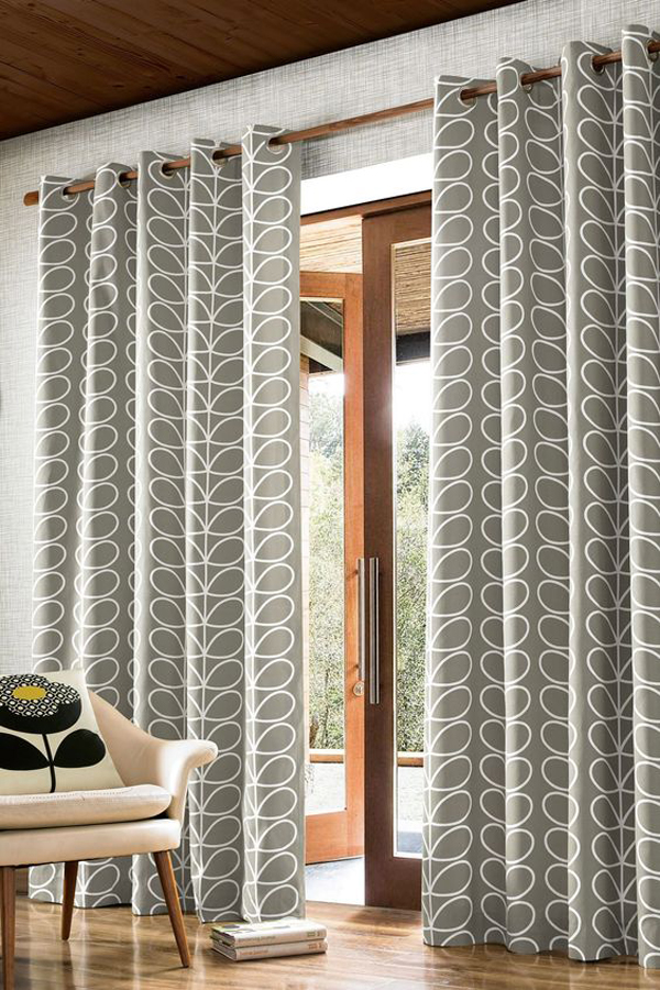 A-soft-gray-window-curtains
