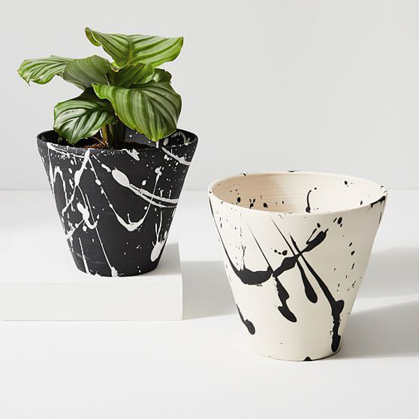 Abstract-painted-pots