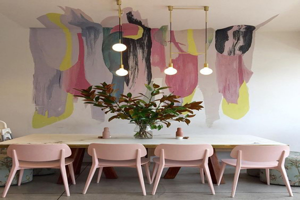 Beautiful-murals-design-for-your-dinning-room