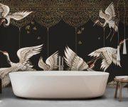 Birds-wall-mural