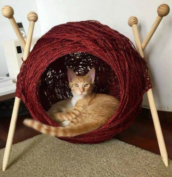 Crochet-cat-cave-ideas