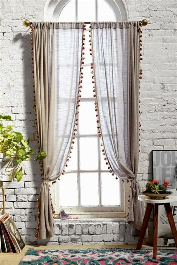 Curtain-with-lace