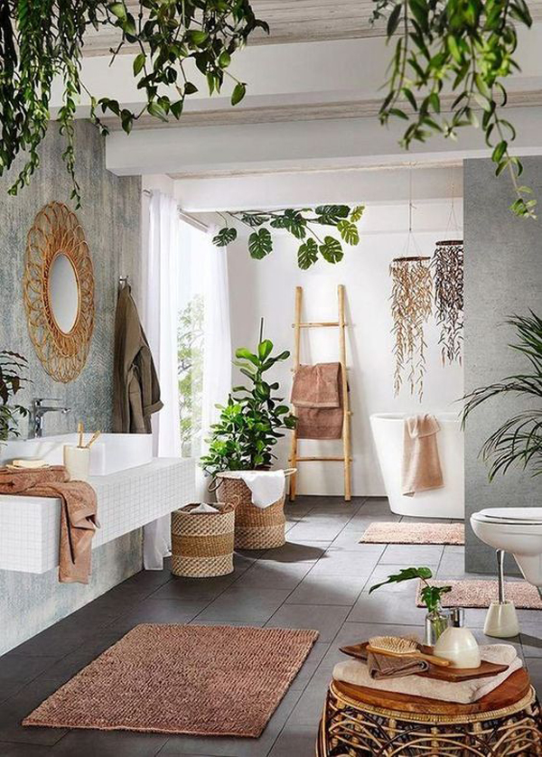 Framehouse-bathroom-with-plants-decoration