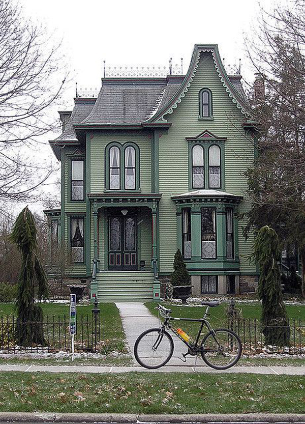 Green-Victorian-house